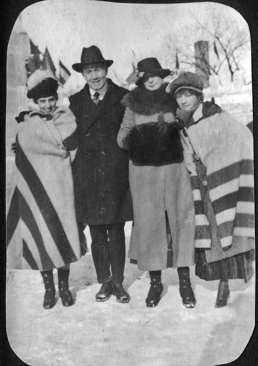 margaret-lorin solon-royal-josie coner-carnival st. paul 1917