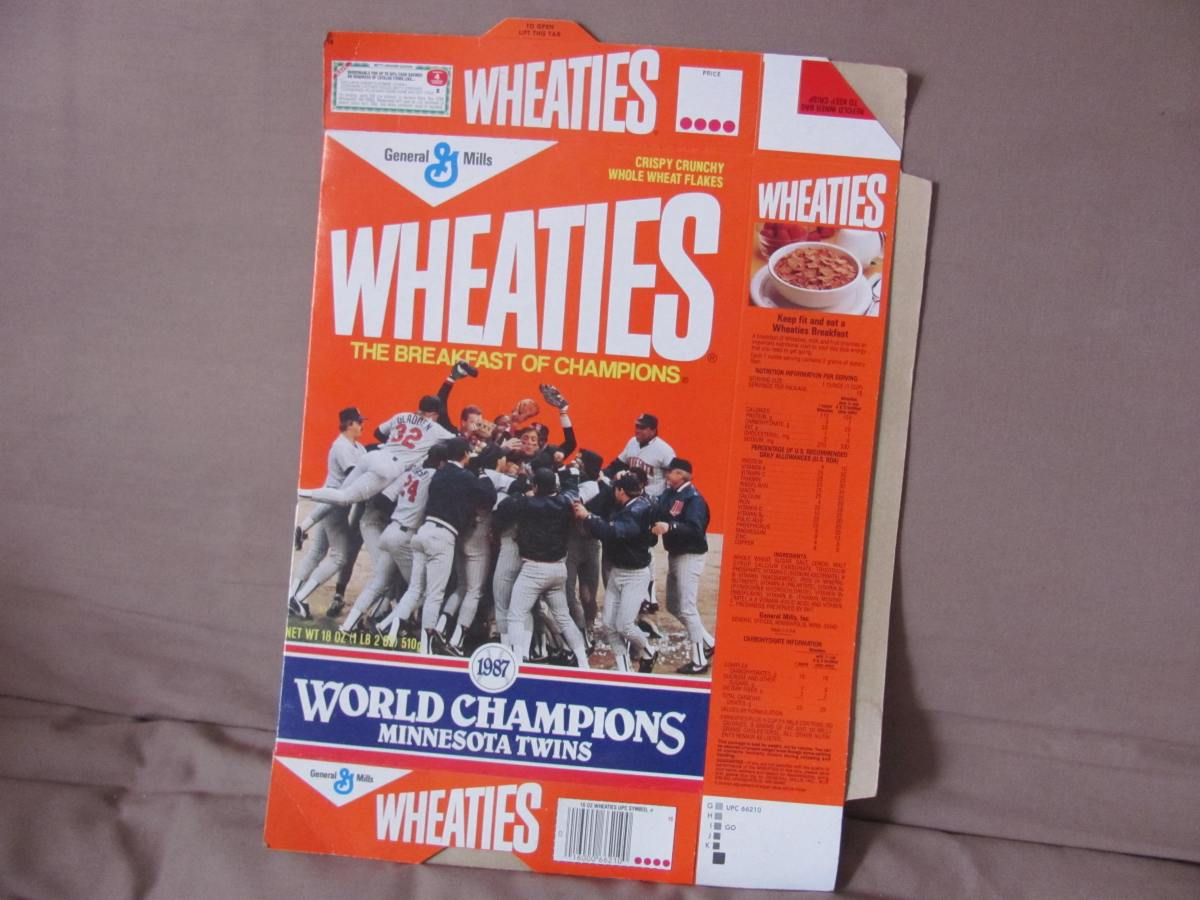 The glory of their time — when Kirby and Herbie, Bruno and the Rat, Sweet Music and Bert, Lauds and Lombo, Gags and  Gladdy, Smalls and T.K. all ate the Breakfast ofChampions!