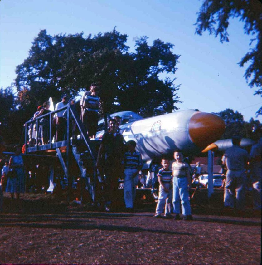 1958 State Fair Airplane