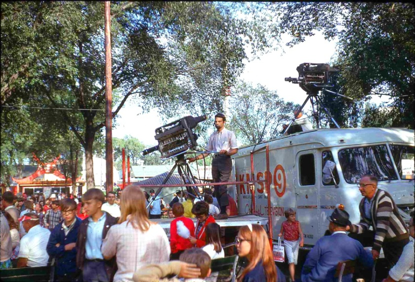 1967 State Fair KMSP TV truck small