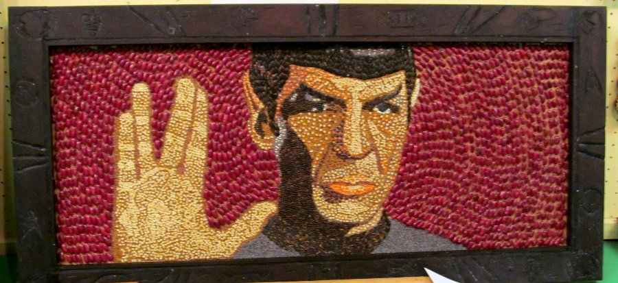 Crop Art -Mr Spock