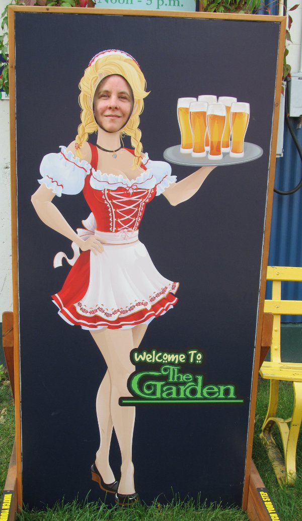 Food -Beer Garden Gal
