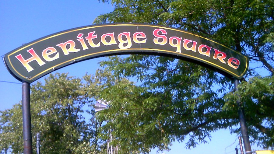Sign - Heritage Square