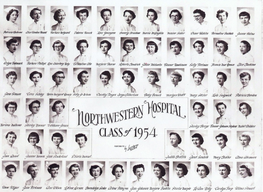 1954 nursing class 1