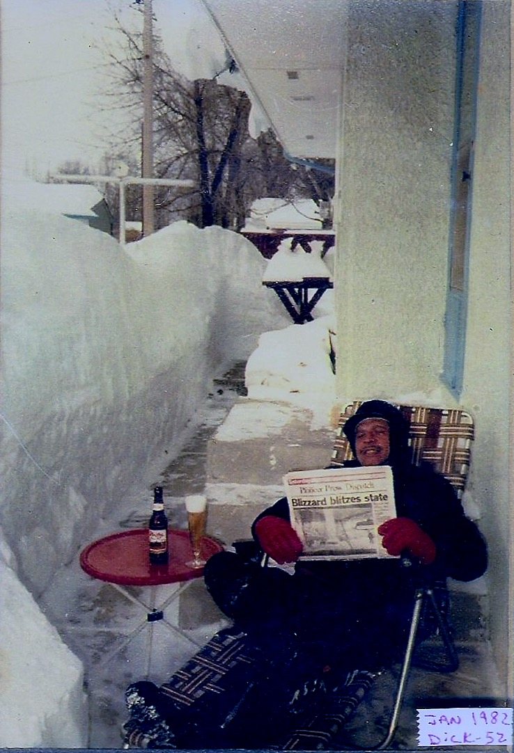 after a blizzard