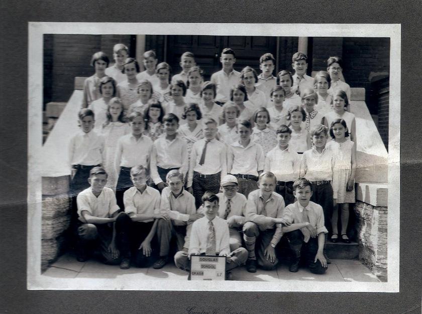 Douglas School 7th grade (front)