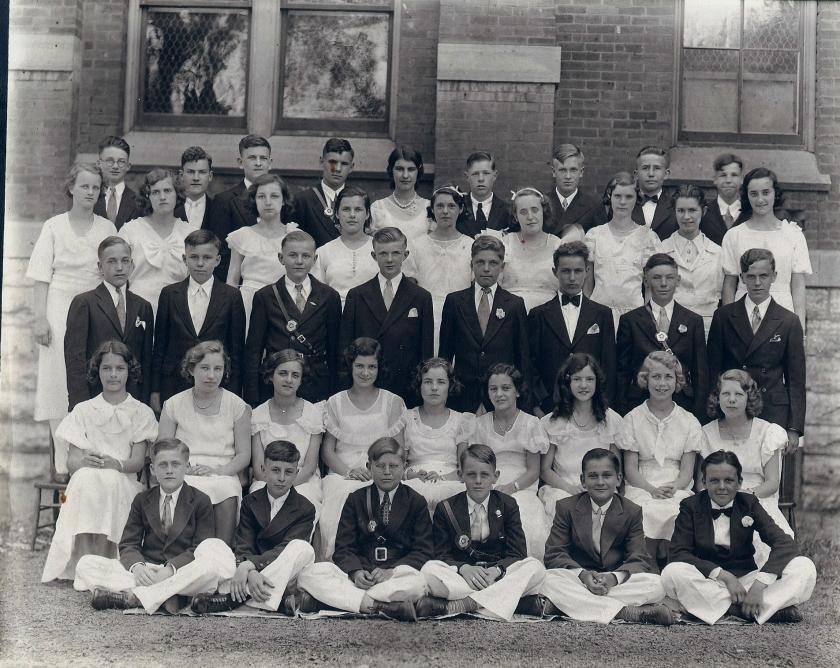 Douglas School 8th grade (front)