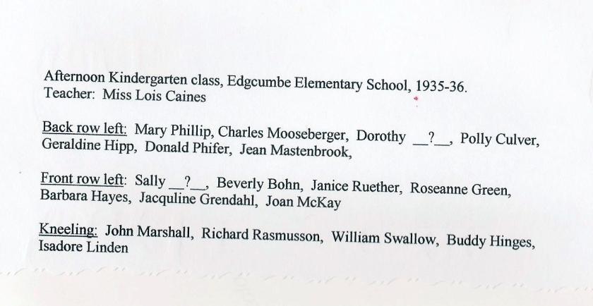 Edgcumbe class (back)