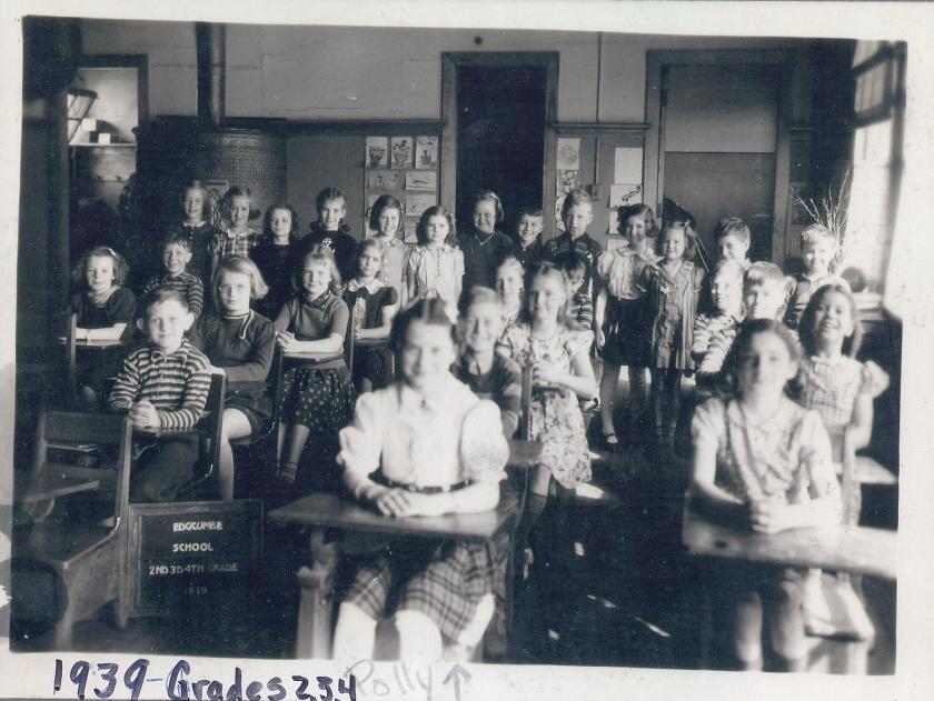 Edgcumbe class grades 3, 4, 5 (front)