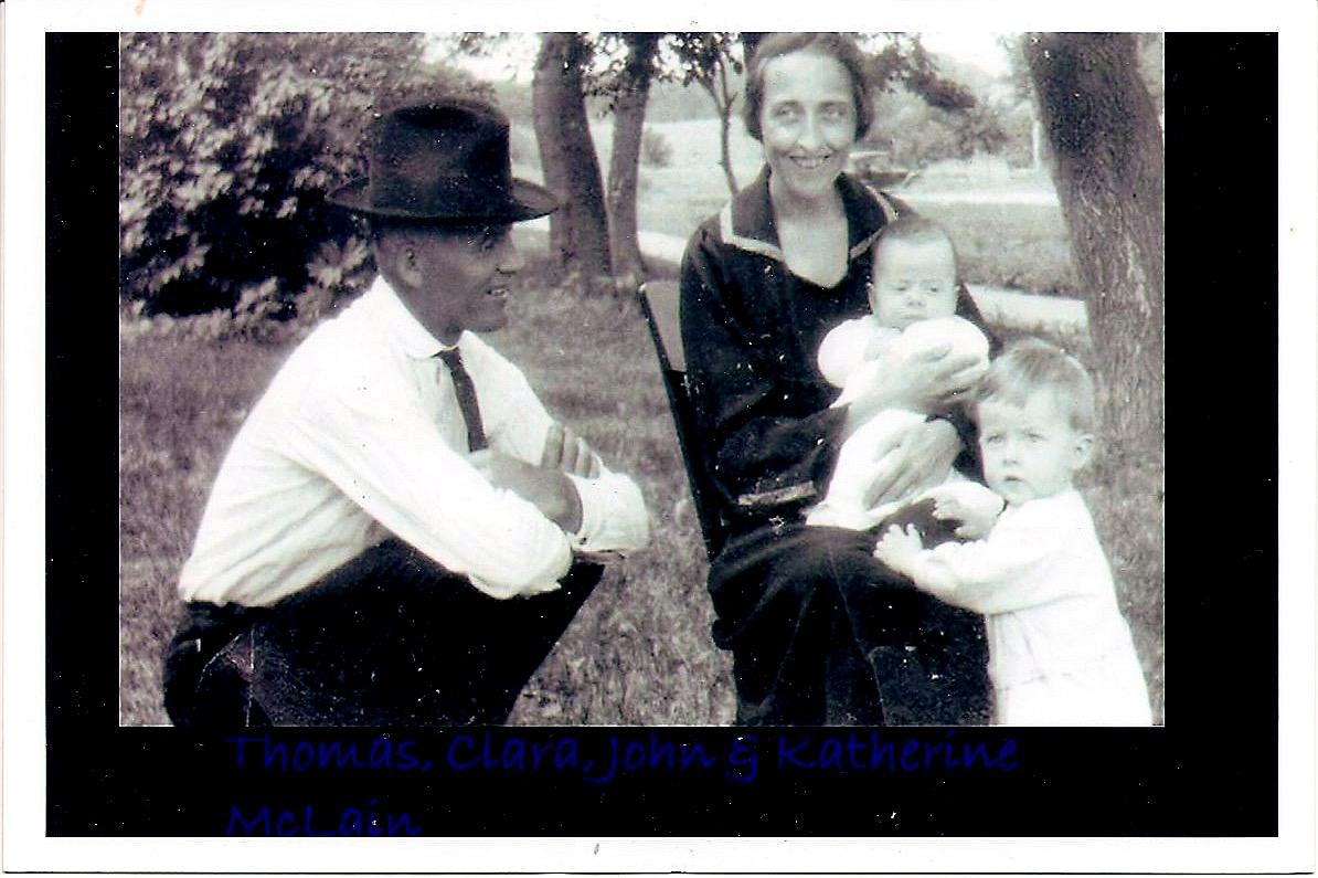 family of 4, 1923, Gary, SD