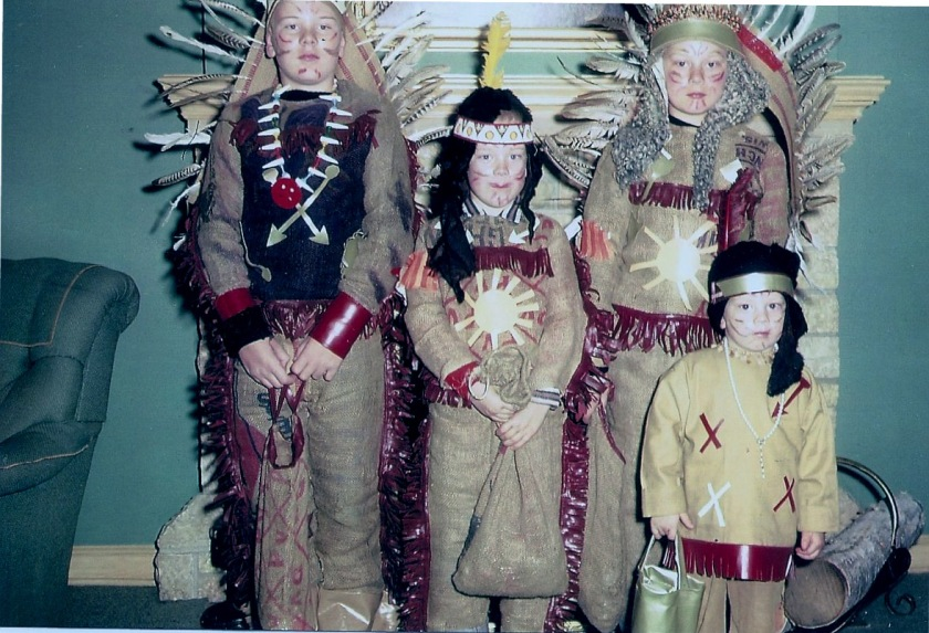 Four little Indians