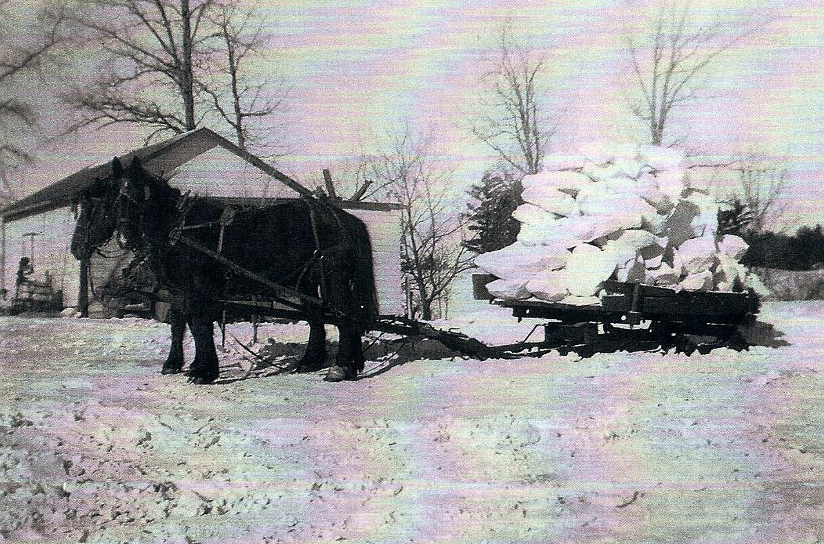 Snow chunks, 1947