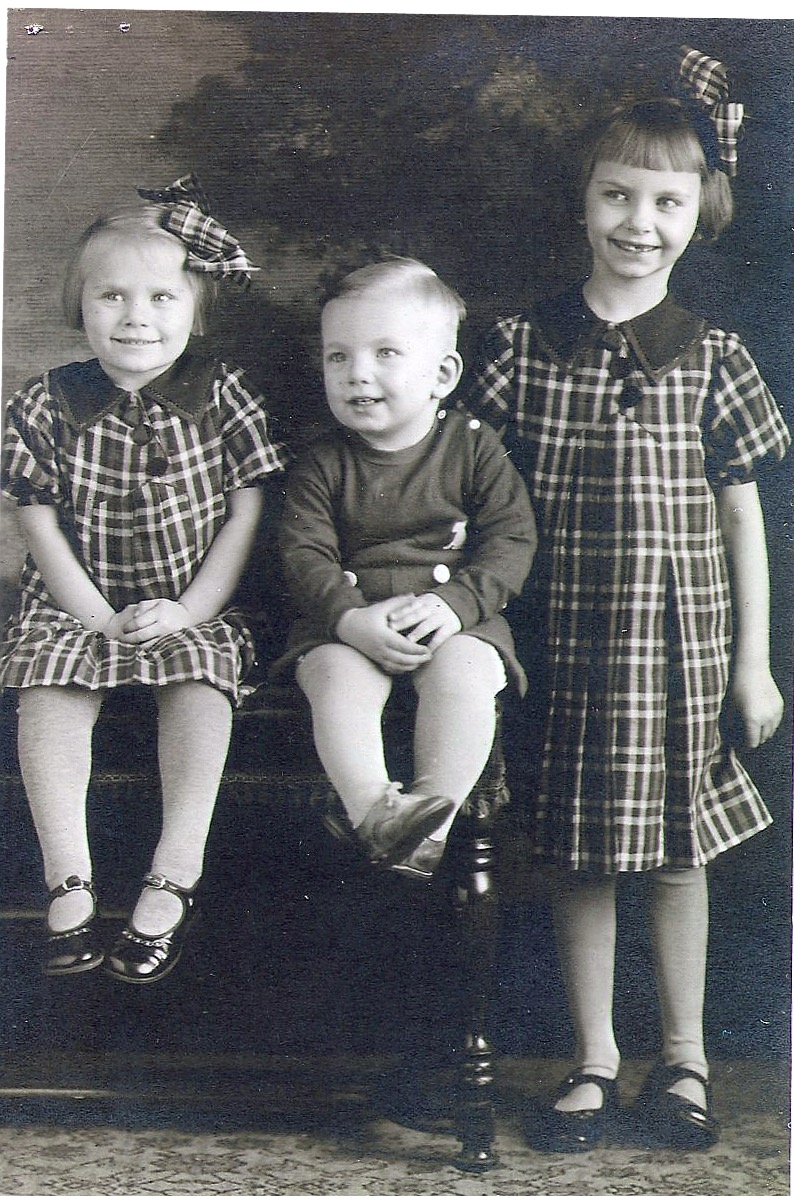 Three kids, from Joanne Pederson